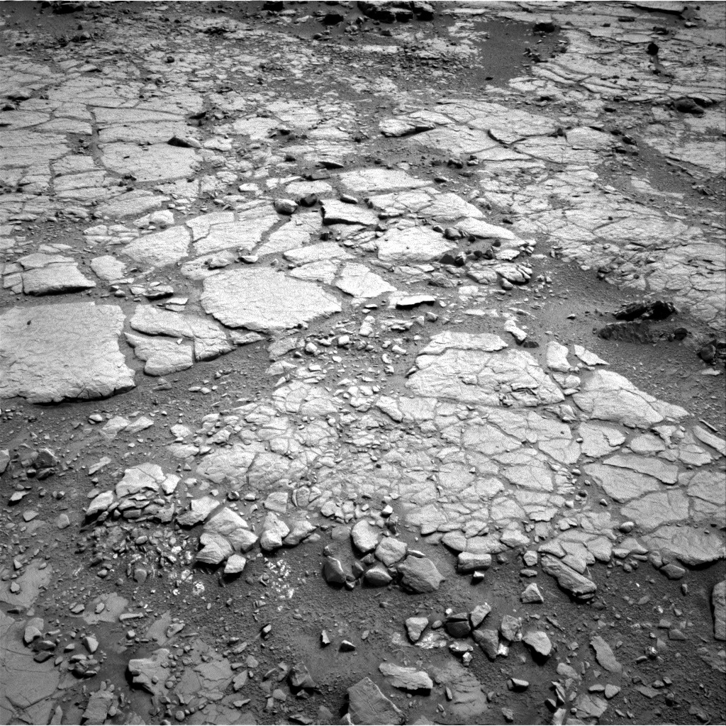 NASA's Mars rover Curiosity acquired this image using its Right Navigation Cameras (Navcams) on Sol 133