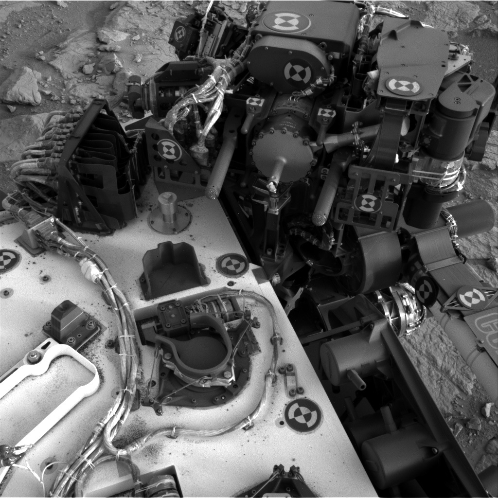 NASA's Mars rover Curiosity acquired this image using its Left Navigation Camera (Navcams) on Sol 134