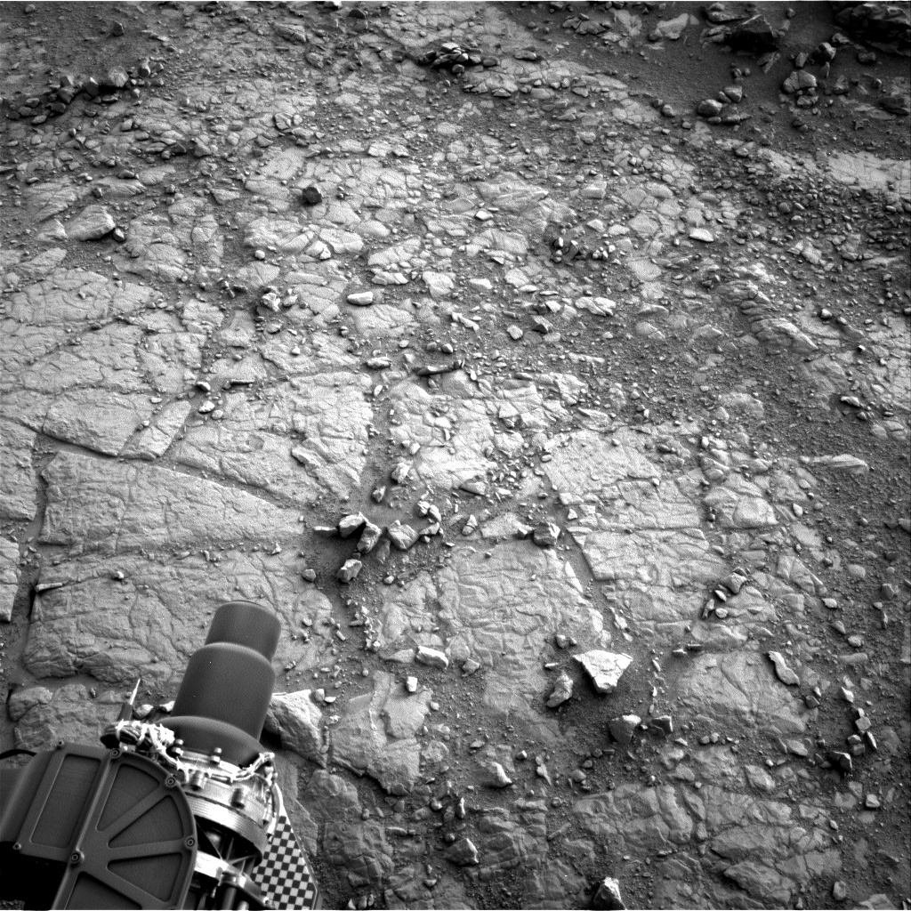 NASA's Mars rover Curiosity acquired this image using its Right Navigation Cameras (Navcams) on Sol 134