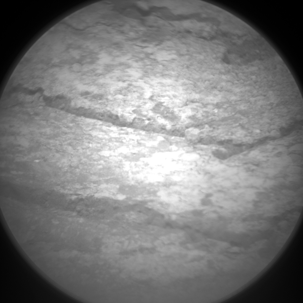 NASA's Mars rover Curiosity acquired this image using its Chemistry & Camera (ChemCam) on Sol 135