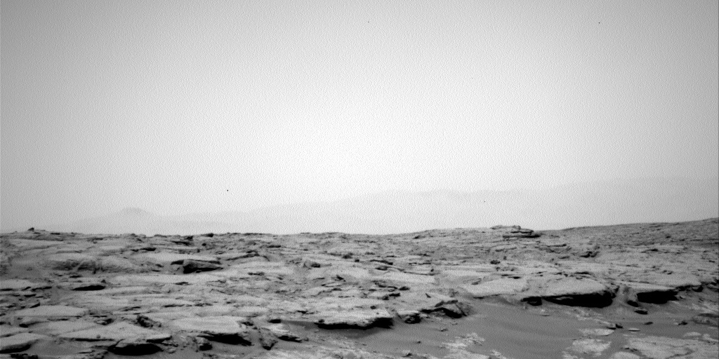 NASA's Mars rover Curiosity acquired this image using its Left Navigation Camera (Navcams) on Sol 135