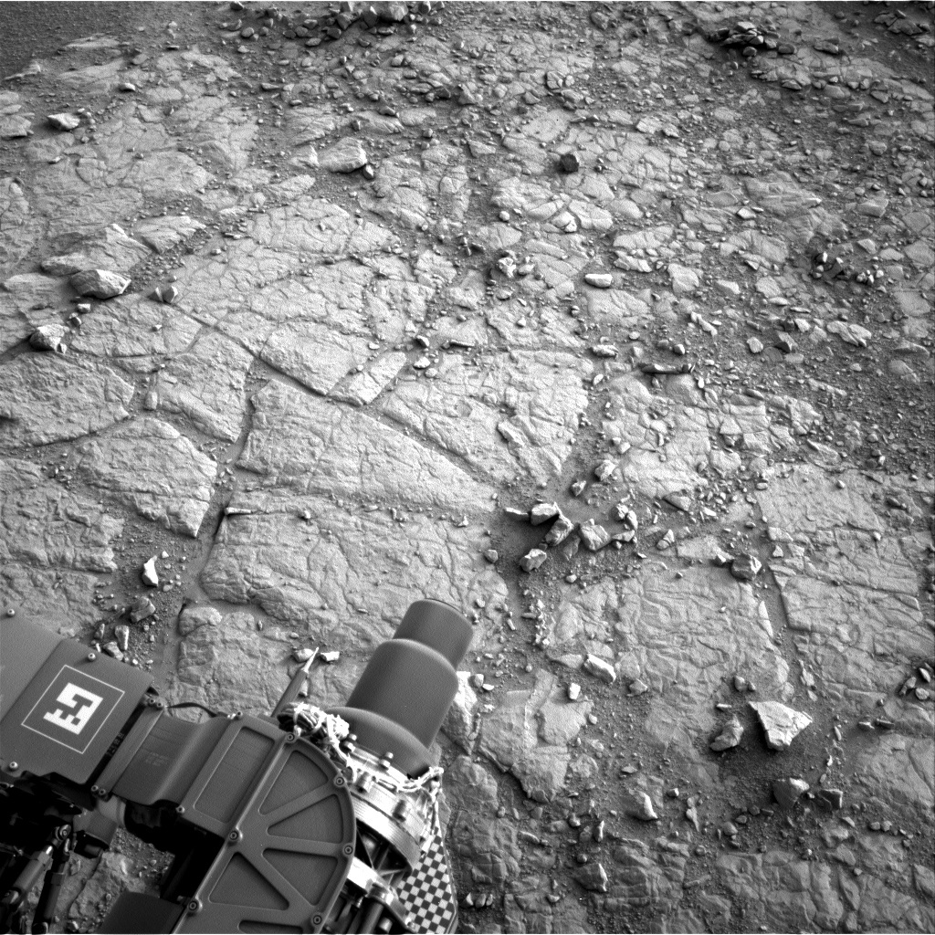 NASA's Mars rover Curiosity acquired this image using its Right Navigation Cameras (Navcams) on Sol 135