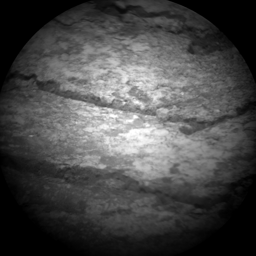 Nasa's Mars rover Curiosity acquired this image using its Chemistry & Camera (ChemCam) on Sol 135, at drive 1858, site number 5