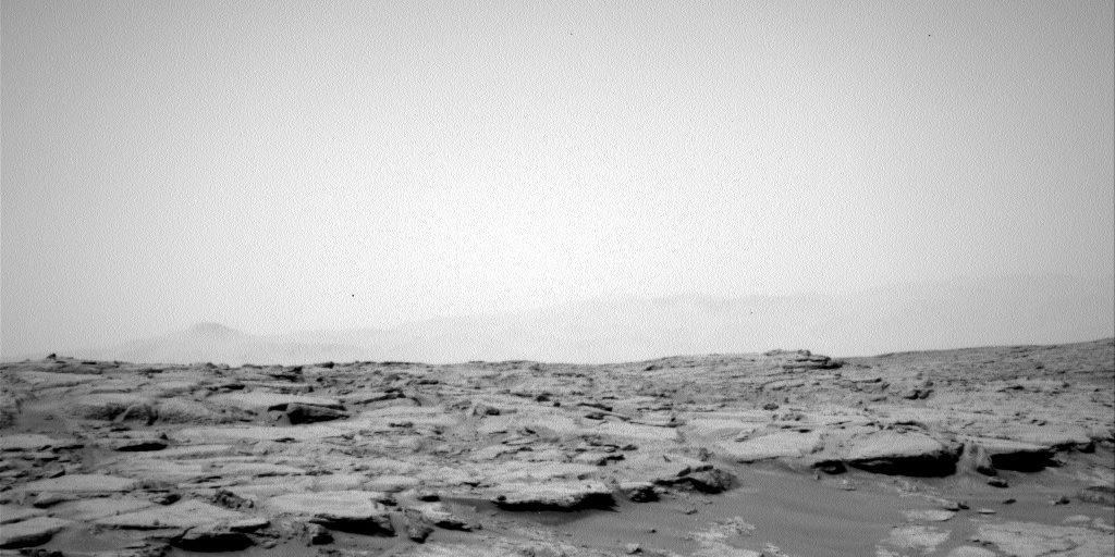 NASA's Mars rover Curiosity acquired this image using its Left Navigation Camera (Navcams) on Sol 138