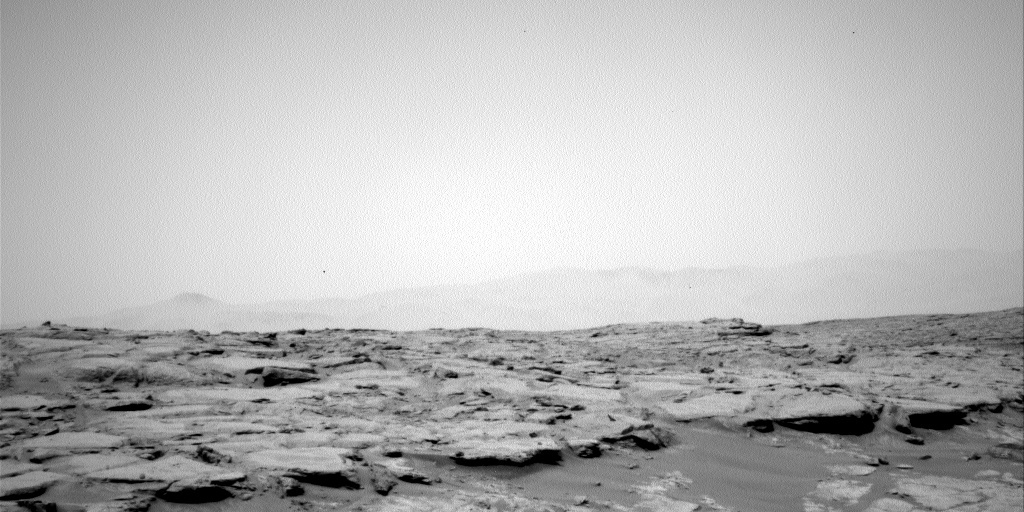 NASA's Mars rover Curiosity acquired this image using its Left Navigation Camera (Navcams) on Sol 145