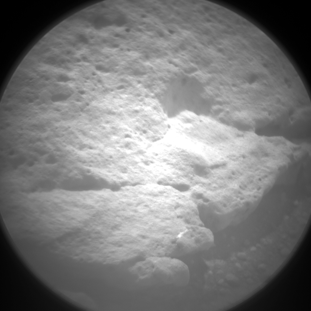 Nasa's Mars rover Curiosity acquired this image using its Chemistry & Camera (ChemCam) on Sol 147, at drive 1858, site number 5