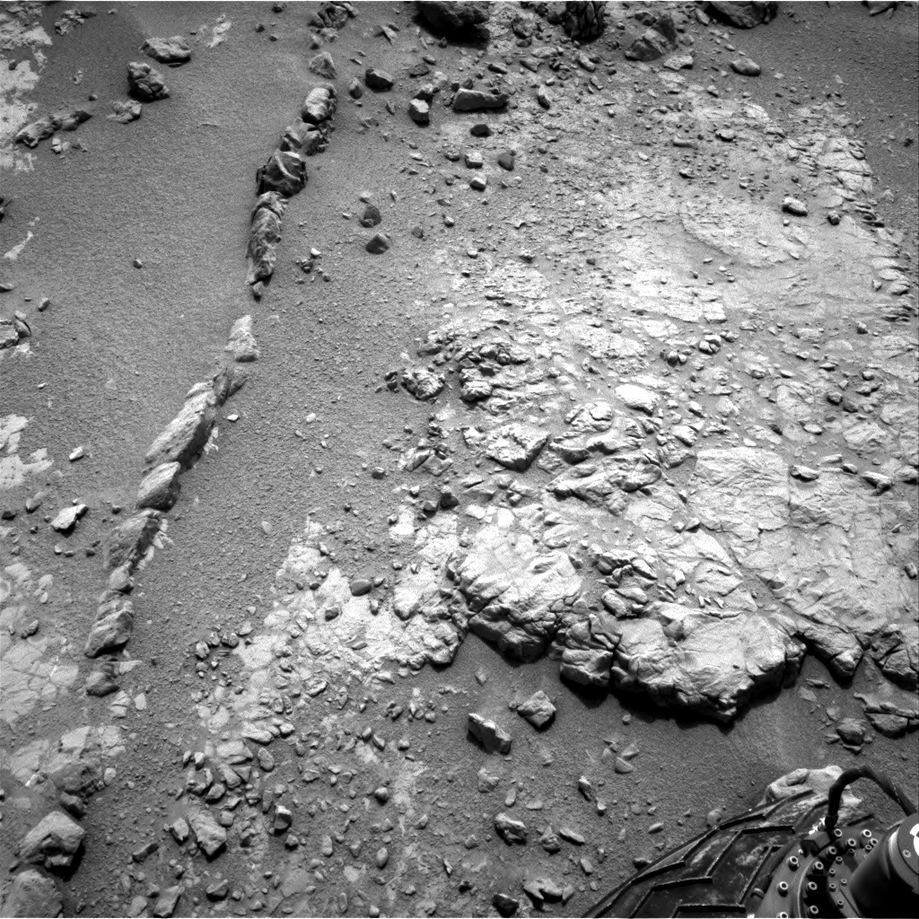 NASA's Mars rover Curiosity acquired this image using its Left Navigation Camera (Navcams) on Sol 147