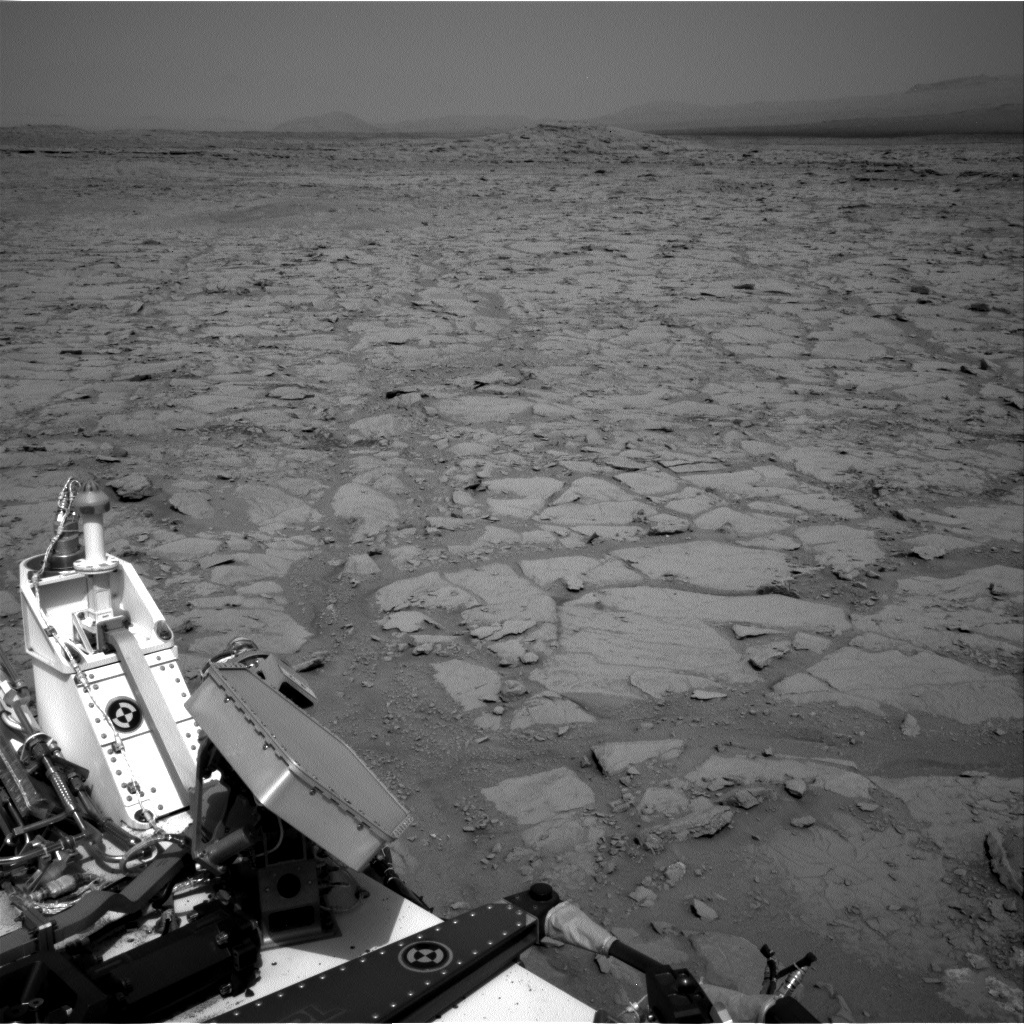 NASA's Mars rover Curiosity acquired this image using its Right Navigation Cameras (Navcams) on Sol 147