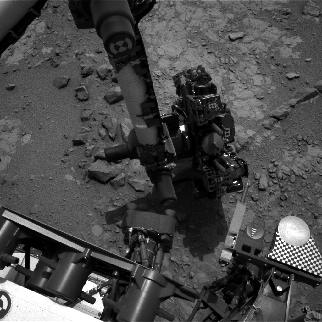 NASA's Mars rover Curiosity acquired this image using its Left Navigation Camera (Navcams) on Sol 149