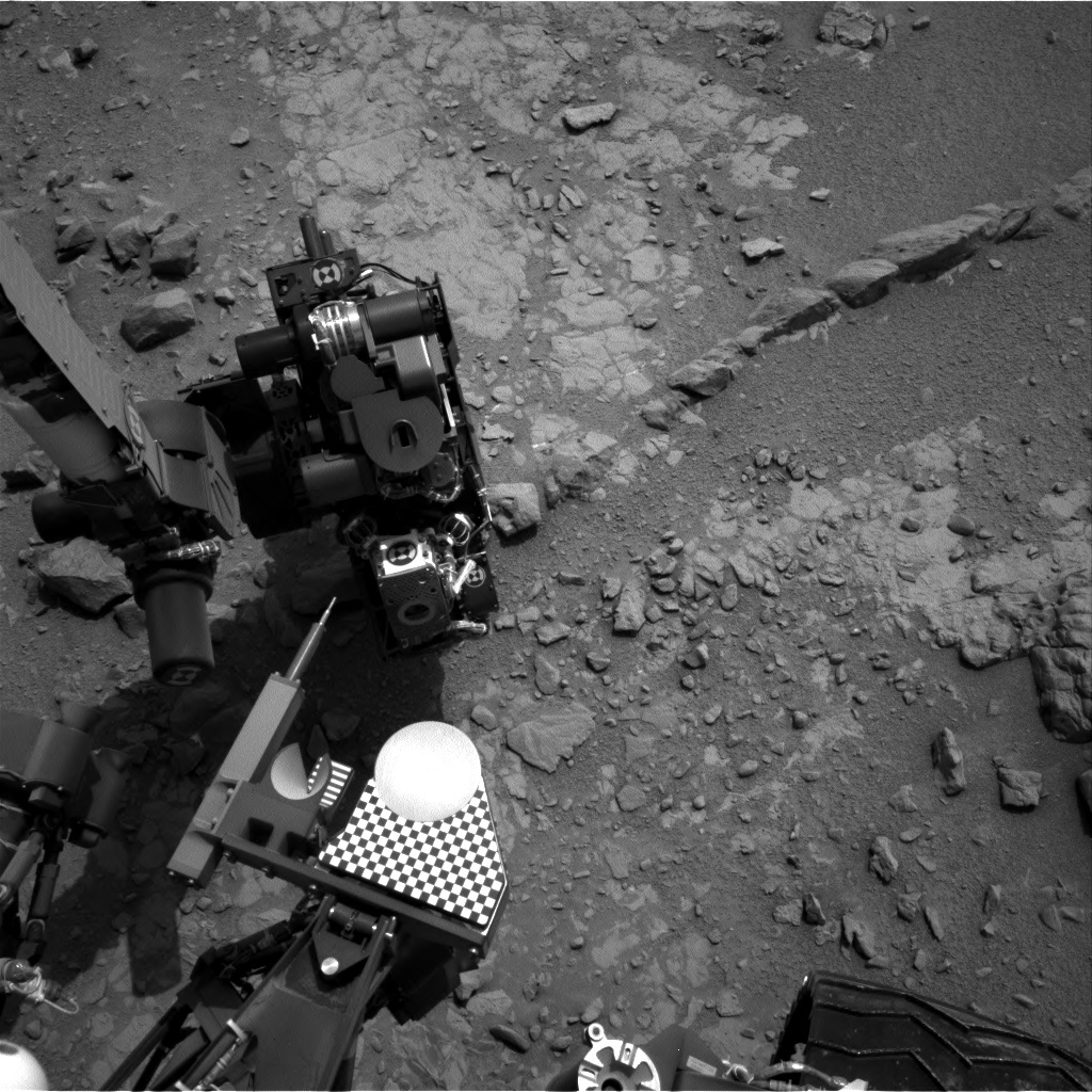 NASA's Mars rover Curiosity acquired this image using its Right Navigation Cameras (Navcams) on Sol 149