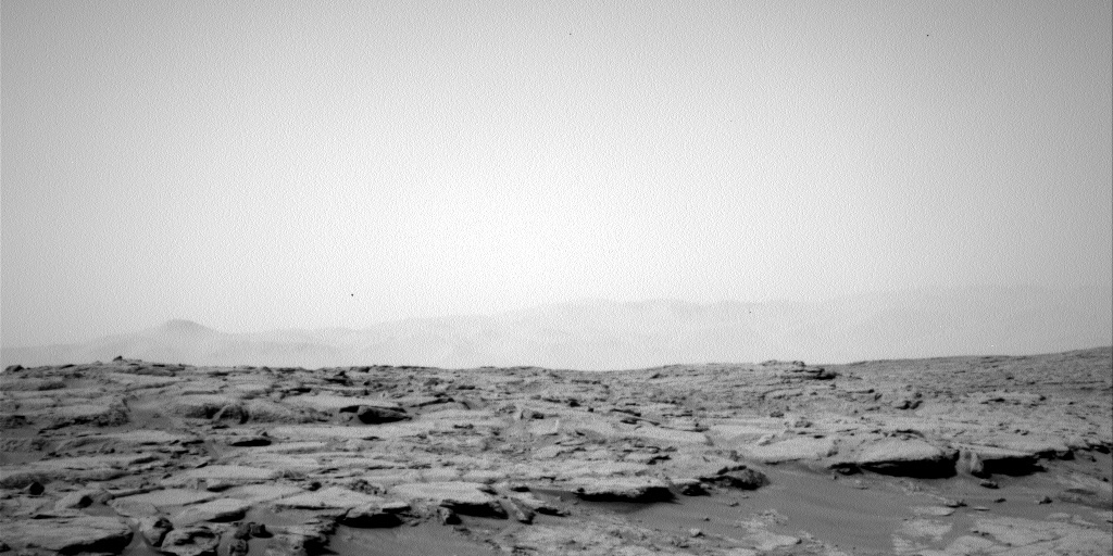 NASA's Mars rover Curiosity acquired this image using its Left Navigation Camera (Navcams) on Sol 150