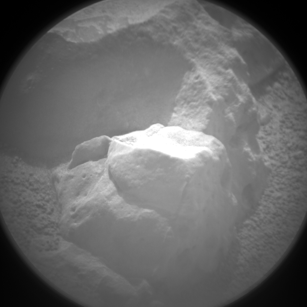 Nasa's Mars rover Curiosity acquired this image using its Chemistry & Camera (ChemCam) on Sol 151, at drive 1902, site number 5