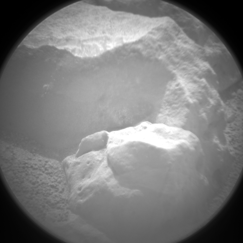 NASA's Mars rover Curiosity acquired this image using its Chemistry & Camera (ChemCam) on Sol 151