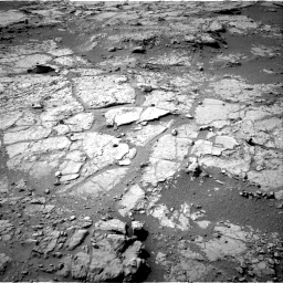 NASA's Mars rover Curiosity acquired this image using its Left Navigation Camera (Navcams) on Sol 151