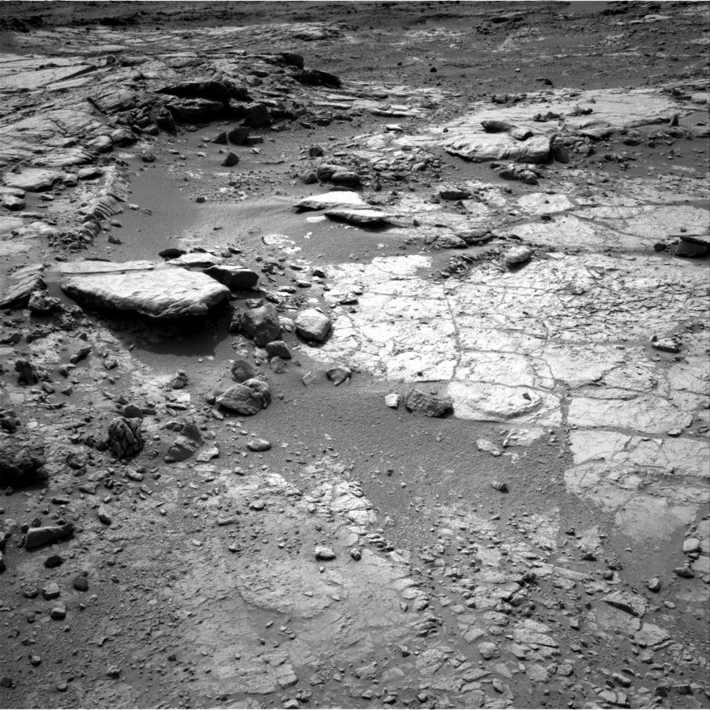 NASA's Mars rover Curiosity acquired this image using its Right Navigation Cameras (Navcams) on Sol 151
