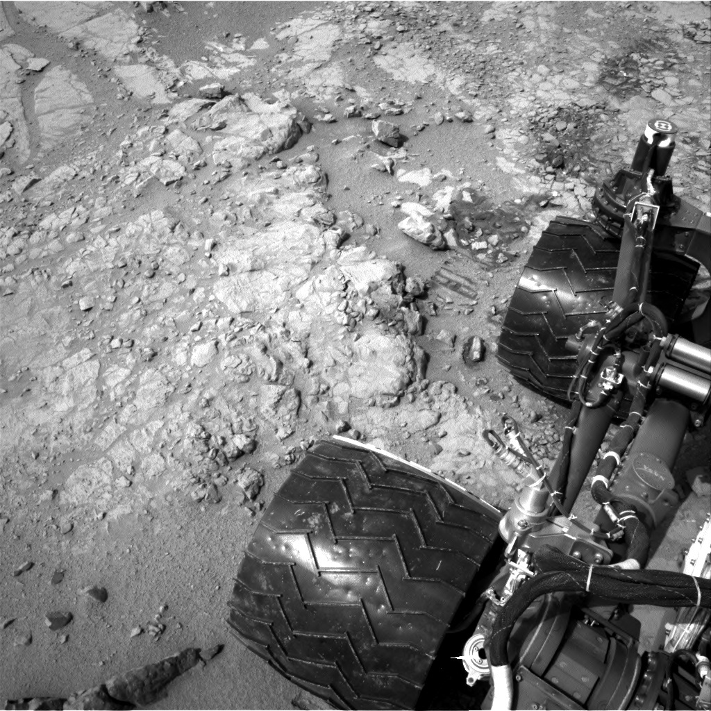 NASA's Mars rover Curiosity acquired this image using its Left Navigation Camera (Navcams) on Sol 152