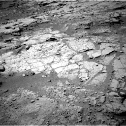 NASA's Mars rover Curiosity acquired this image using its Right Navigation Cameras (Navcams) on Sol 152