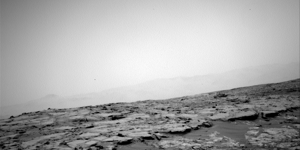 NASA's Mars rover Curiosity acquired this image using its Left Navigation Camera (Navcams) on Sol 153