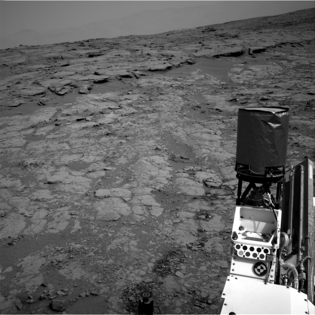NASA's Mars rover Curiosity acquired this image using its Right Navigation Cameras (Navcams) on Sol 153