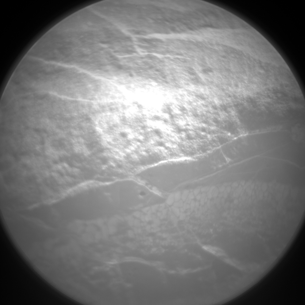 NASA's Mars rover Curiosity acquired this image using its Chemistry & Camera (ChemCam) on Sol 154