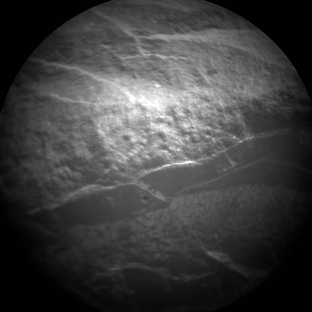 Nasa's Mars rover Curiosity acquired this image using its Chemistry & Camera (ChemCam) on Sol 154, at drive 1954, site number 5