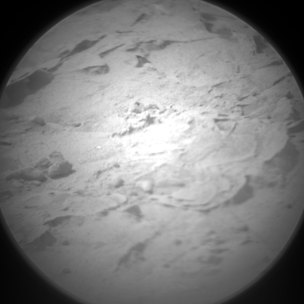 Nasa's Mars rover Curiosity acquired this image using its Chemistry & Camera (ChemCam) on Sol 155, at drive 1954, site number 5