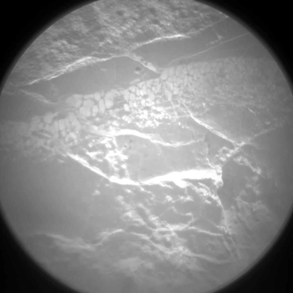 NASA's Mars rover Curiosity acquired this image using its Chemistry & Camera (ChemCam) on Sol 157