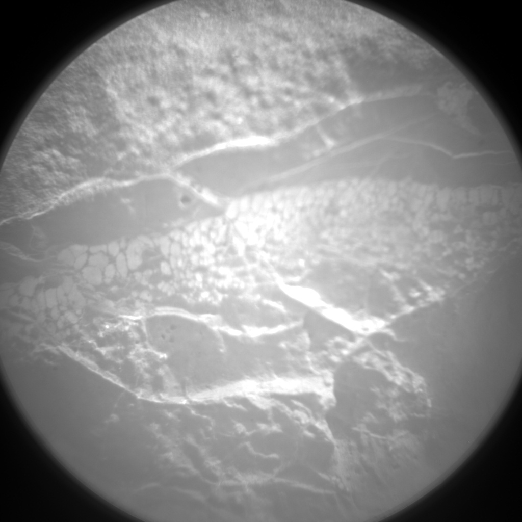 Nasa's Mars rover Curiosity acquired this image using its Chemistry & Camera (ChemCam) on Sol 157, at drive 1954, site number 5