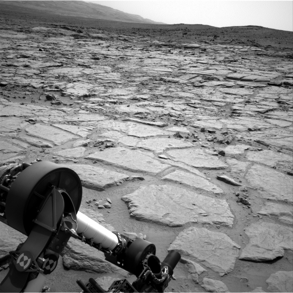 NASA's Mars rover Curiosity acquired this image using its Left Navigation Camera (Navcams) on Sol 157