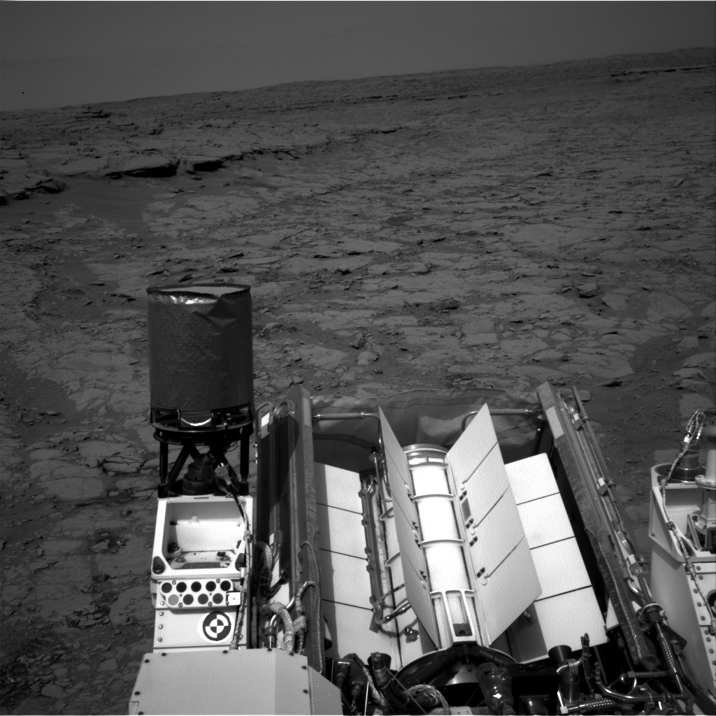 NASA's Mars rover Curiosity acquired this image using its Right Navigation Cameras (Navcams) on Sol 157