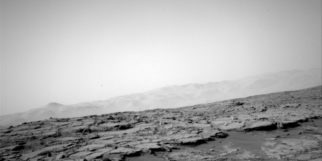 NASA's Mars rover Curiosity acquired this image using its Left Navigation Camera (Navcams) on Sol 158