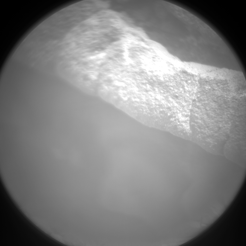 Nasa's Mars rover Curiosity acquired this image using its Chemistry & Camera (ChemCam) on Sol 159, at drive 1954, site number 5