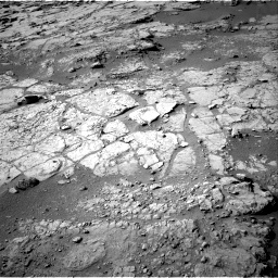 NASA's Mars rover Curiosity acquired this image using its Right Navigation Cameras (Navcams) on Sol 159