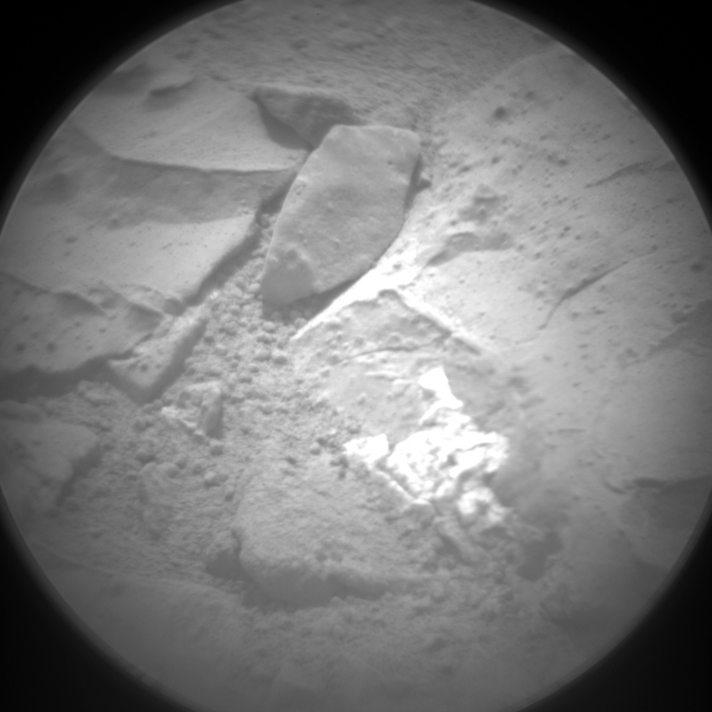 Nasa's Mars rover Curiosity acquired this image using its Chemistry & Camera (ChemCam) on Sol 160, at drive 1986, site number 5