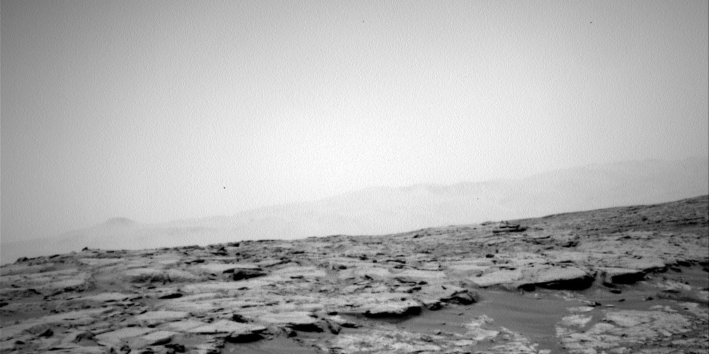 NASA's Mars rover Curiosity acquired this image using its Left Navigation Camera (Navcams) on Sol 160