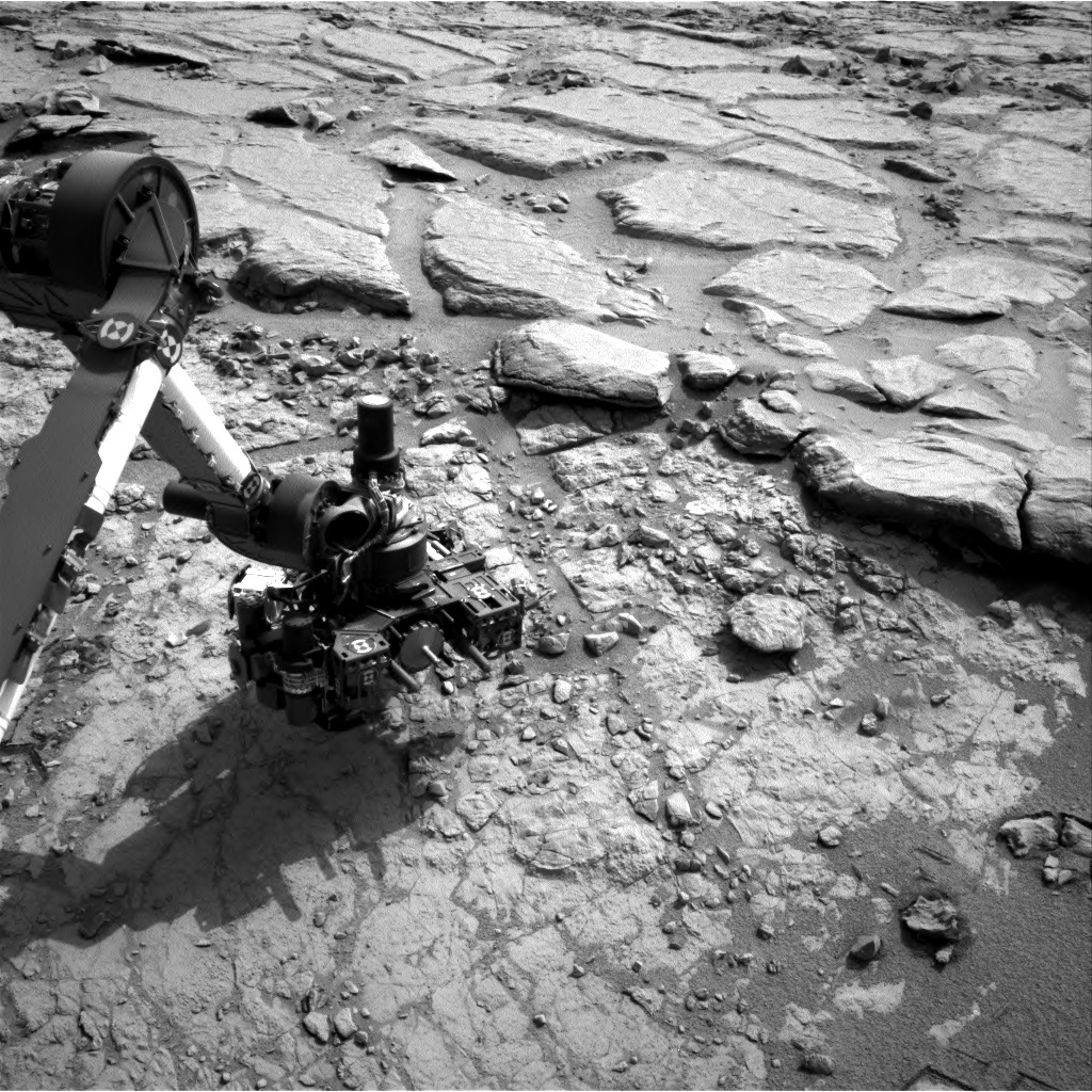 NASA's Mars rover Curiosity acquired this image using its Right Navigation Cameras (Navcams) on Sol 160