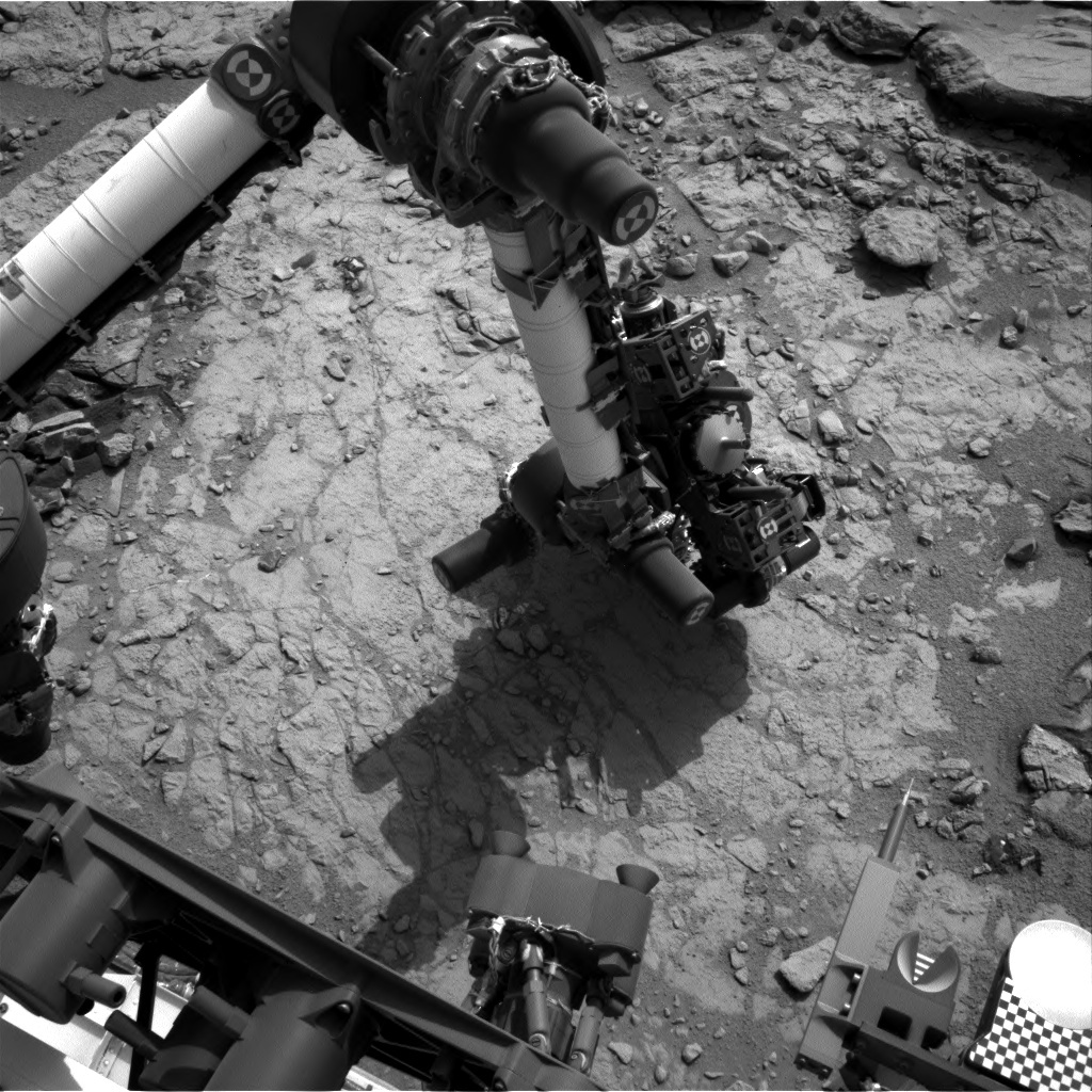 NASA's Mars rover Curiosity acquired this image using its Left Navigation Camera (Navcams) on Sol 161