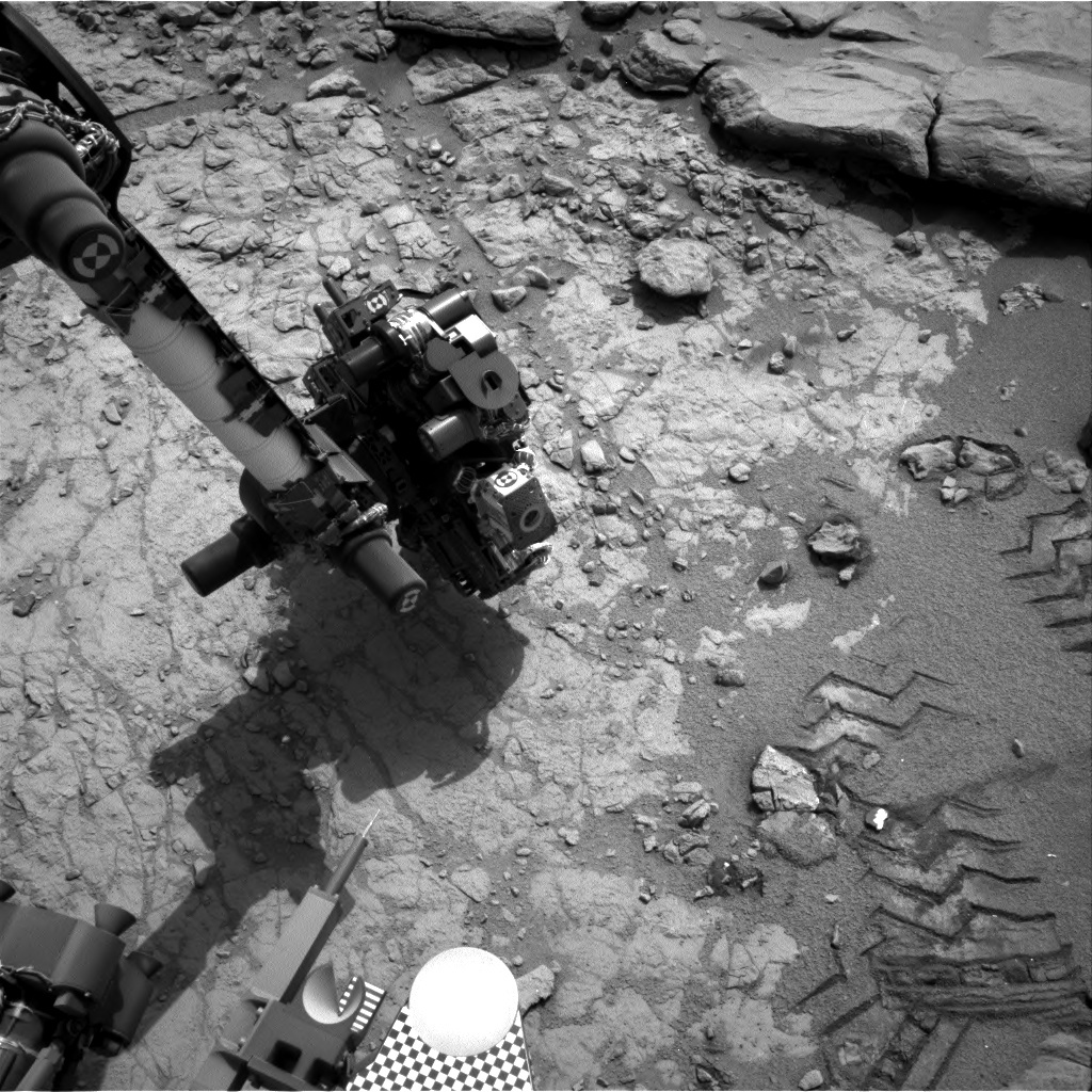 NASA's Mars rover Curiosity acquired this image using its Right Navigation Cameras (Navcams) on Sol 161