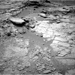 NASA's Mars rover Curiosity acquired this image using its Left Navigation Camera (Navcams) on Sol 162