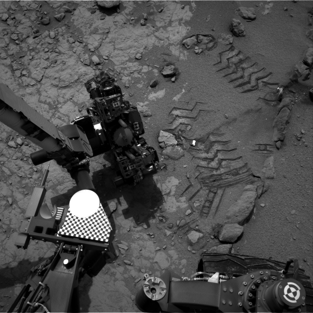 NASA's Mars rover Curiosity acquired this image using its Right Navigation Cameras (Navcams) on Sol 162