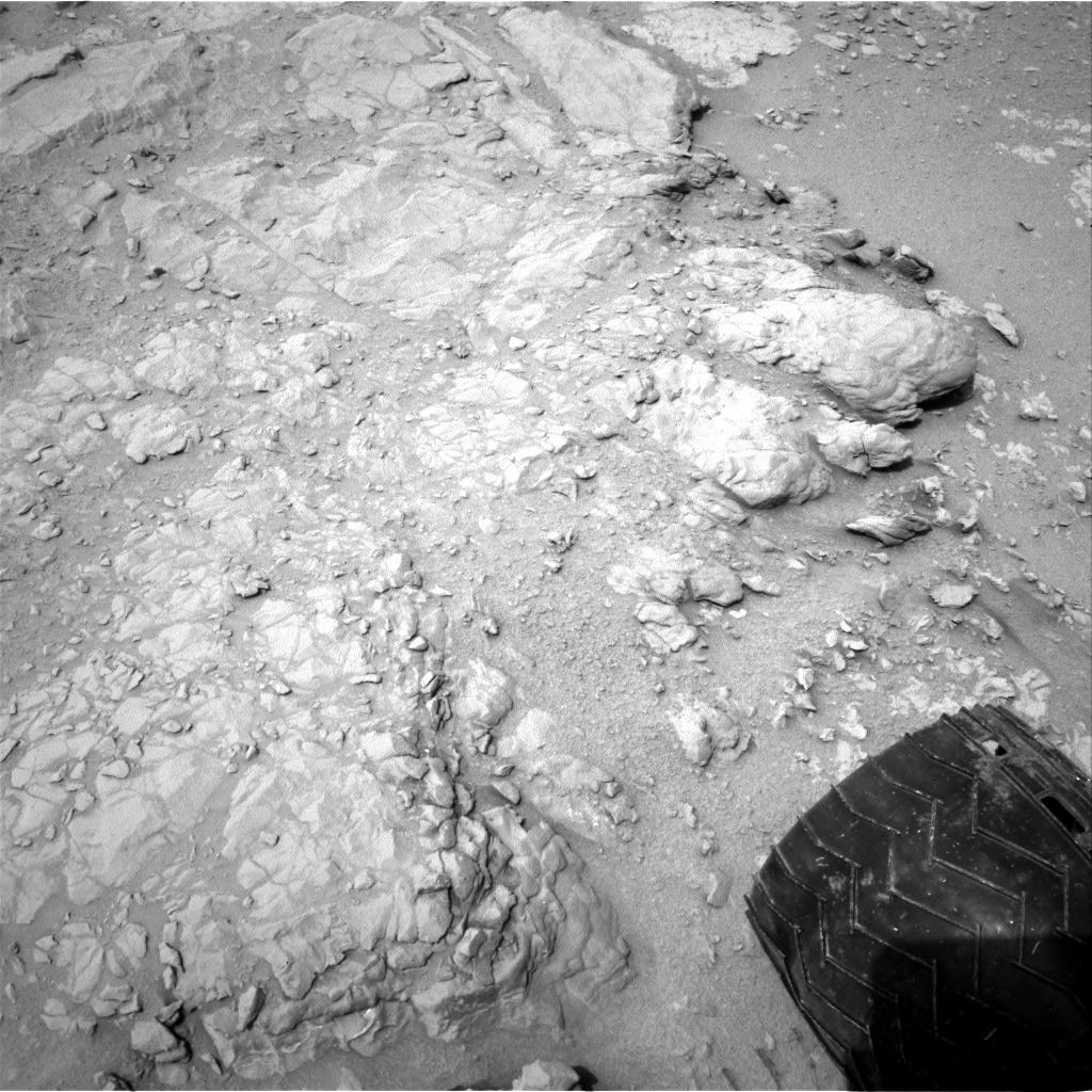 NASA's Mars rover Curiosity acquired this image using its Left Navigation Camera (Navcams) on Sol 163