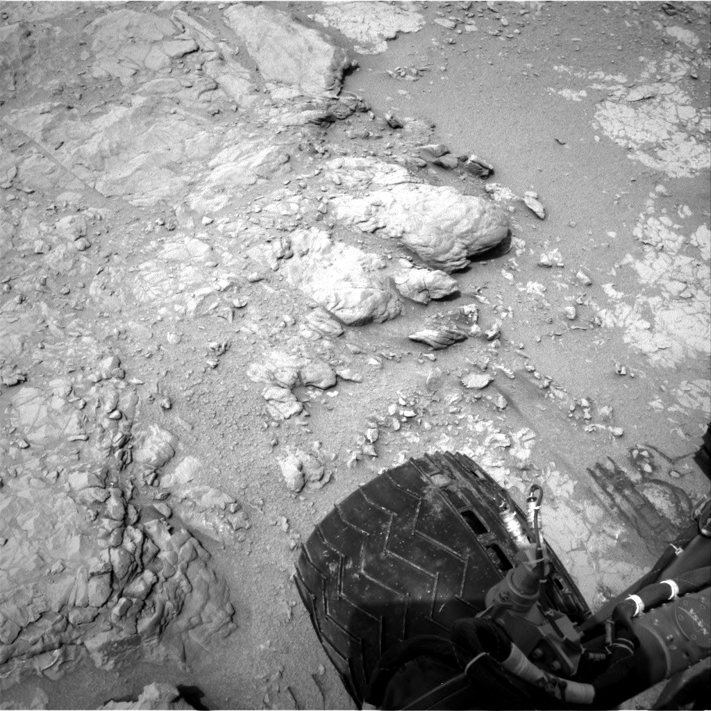 NASA's Mars rover Curiosity acquired this image using its Right Navigation Cameras (Navcams) on Sol 163