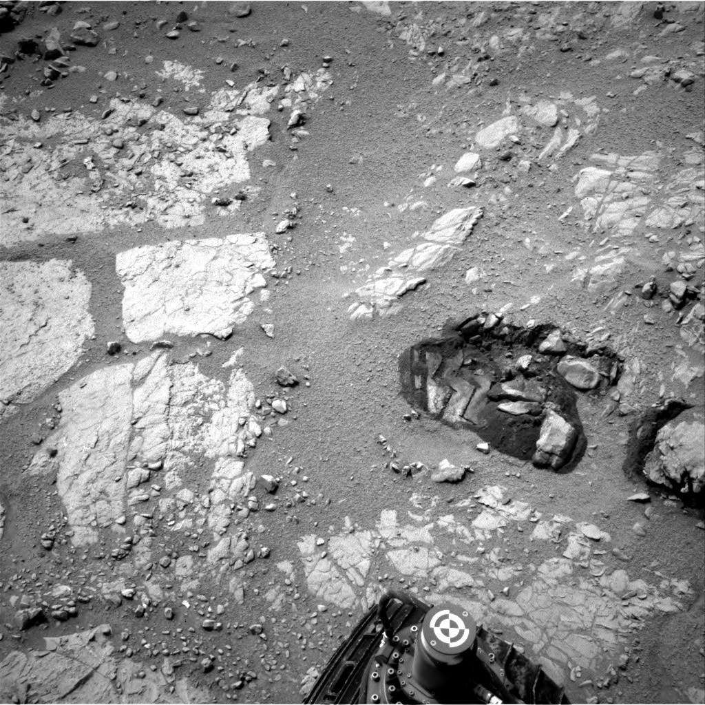 NASA's Mars rover Curiosity acquired this image using its Left Navigation Camera (Navcams) on Sol 164