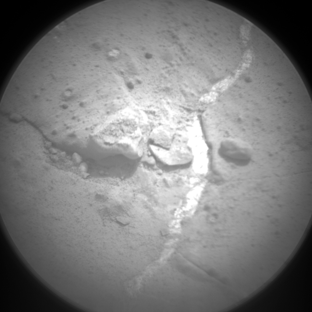NASA's Mars rover Curiosity acquired this image using its Chemistry & Camera (ChemCam) on Sol 165