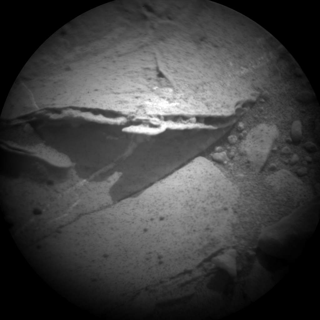 Nasa's Mars rover Curiosity acquired this image using its Chemistry & Camera (ChemCam) on Sol 165, at drive 2270, site number 5