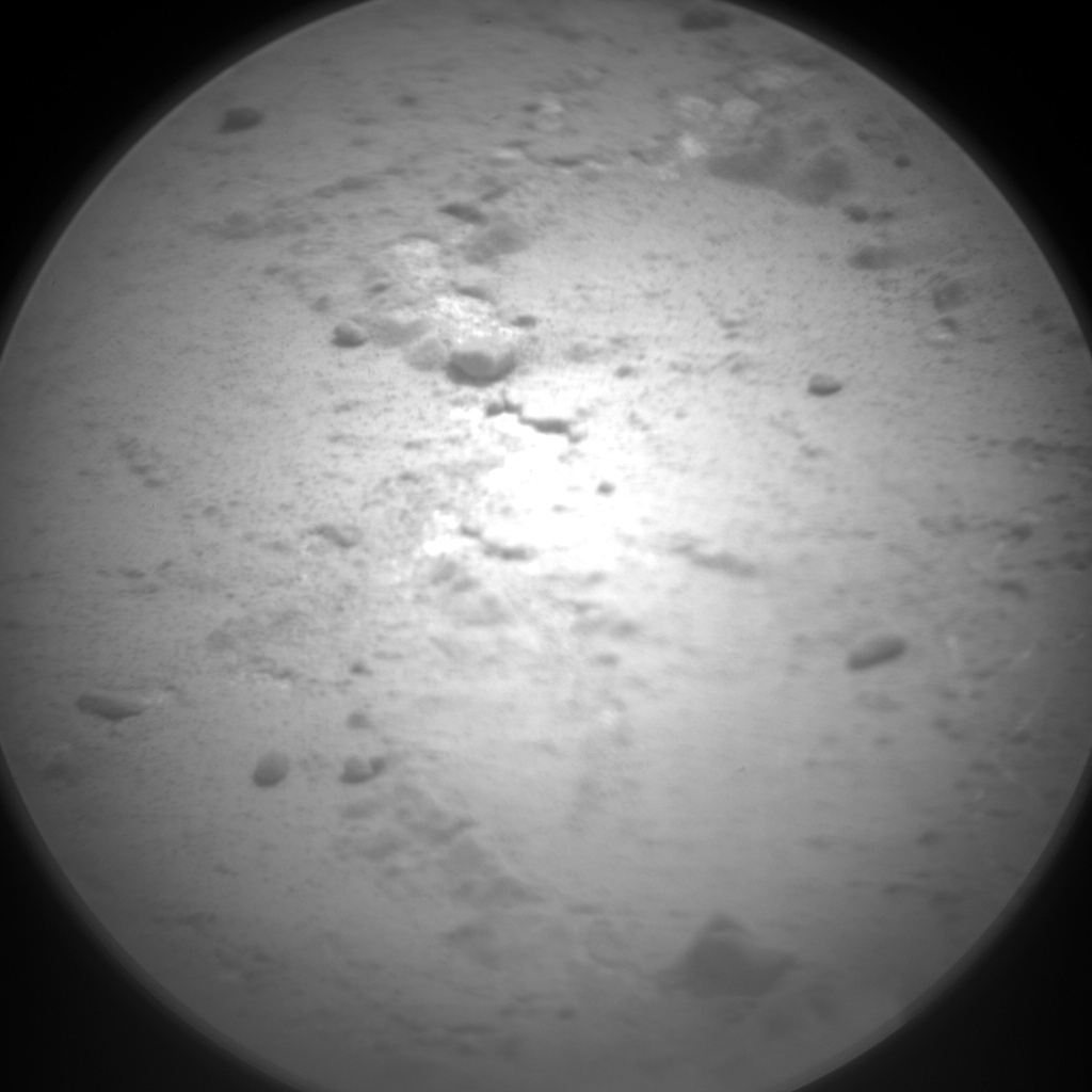NASA's Mars rover Curiosity acquired this image using its Chemistry & Camera (ChemCam) on Sol 166