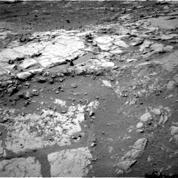 NASA's Mars rover Curiosity acquired this image using its Right Navigation Cameras (Navcams) on Sol 166