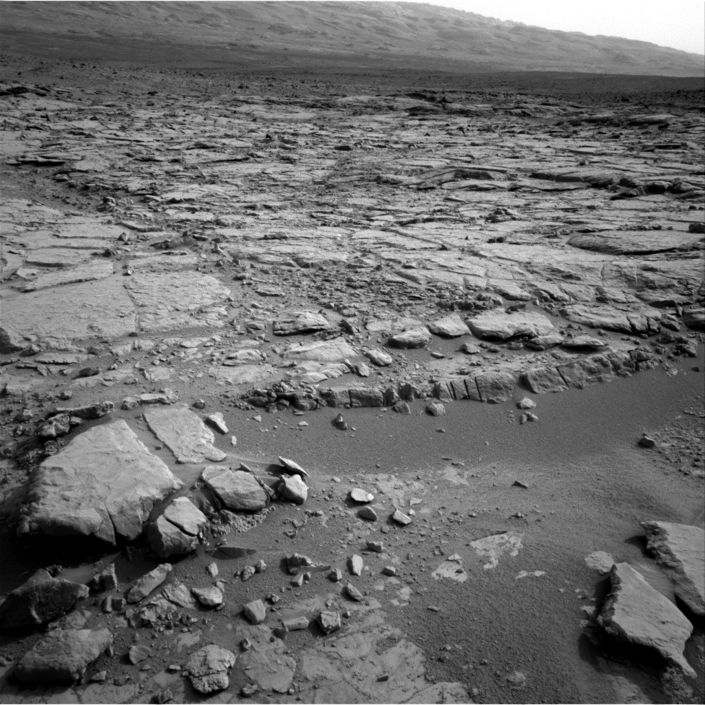 NASA's Mars rover Curiosity acquired this image using its Left Navigation Camera (Navcams) on Sol 168