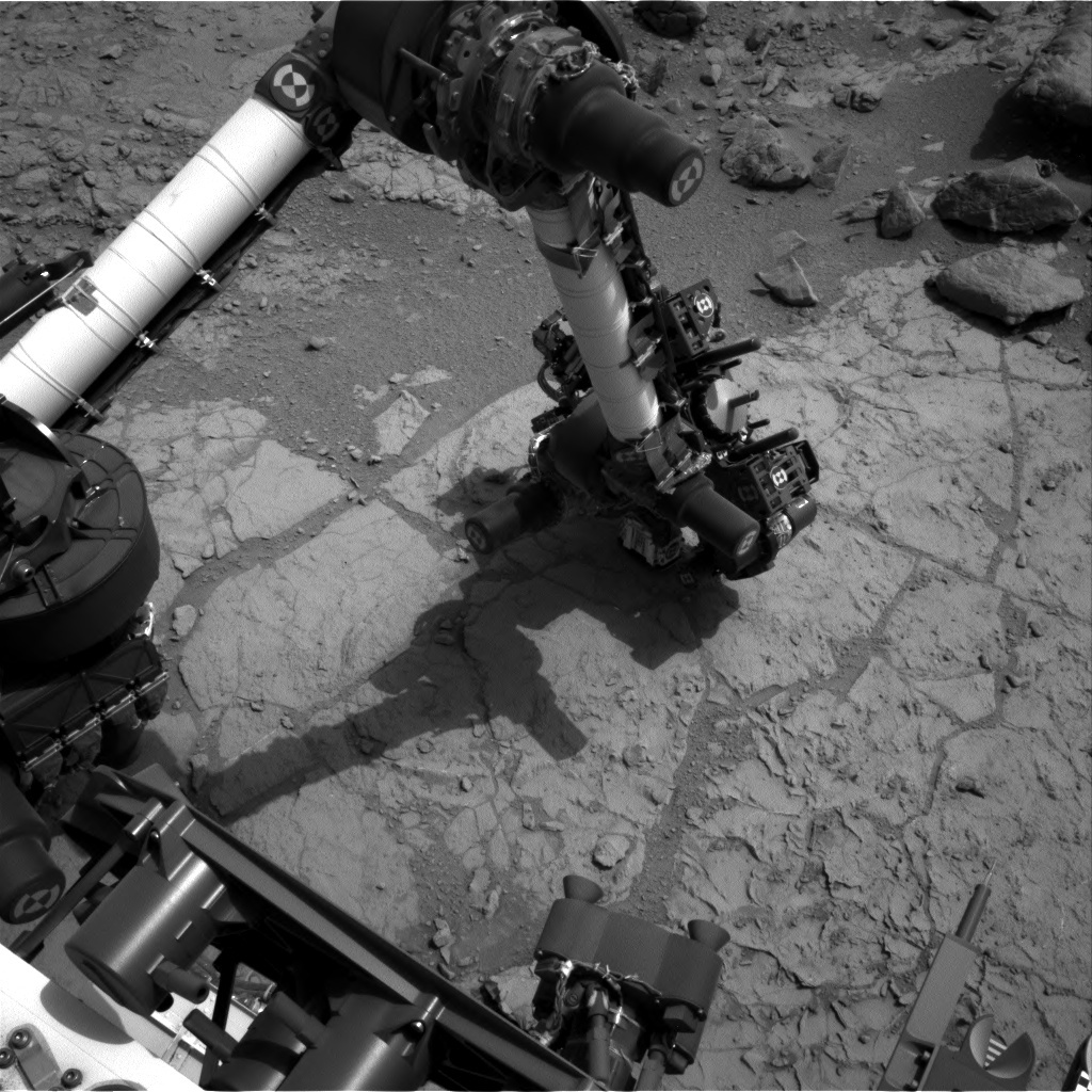 NASA's Mars rover Curiosity acquired this image using its Left Navigation Camera (Navcams) on Sol 169