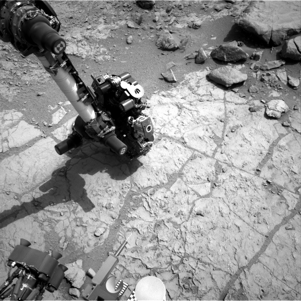 NASA's Mars rover Curiosity acquired this image using its Right Navigation Cameras (Navcams) on Sol 169